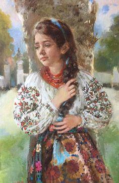 Ukrainian Art, Russian Art, Various Artists, Artist Painting, Beautiful Children, All Art, Female Art, Art For Kids, Medieval