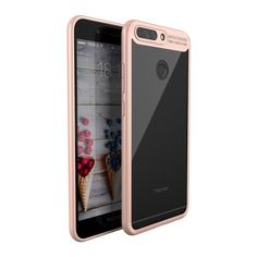 Coque Huawei Honor 8 Pro IPAKY Transparent - Or Rose
