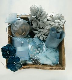 Inspiration Box Color Story: Baby Blue from Propcloset.com styling and photo by Robin Zachary