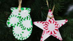 DIY - Peppermint Christmas Tree Ornaments You still have time to add ornaments to your tree. Check these out - https://www.youtube.com/watch?v=Tl_hHaBVwOU