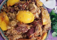 Домашний плов в казане по узбекски - рецепт с айвой Империя вкусов