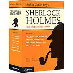 Livro - Box Sherlock Holmes (4 Volumes)