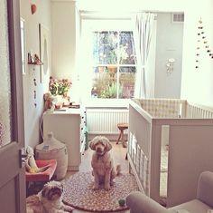 Gorgeous Small E Nursery Olli Ella Bedding Rugs Baskets Garlands And Nursing Chair