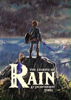 Last time I played, it was so inconvenient that it literally started raining as soon as I grabbed a ledge after gliding to it over a chasm of death  And that happened THREE TIMES IN 40 minutes
