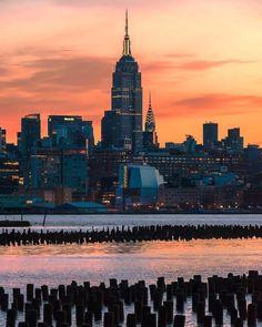 New York City Feelings - Before the sunrise by @nyclovesnyc  #NYC #GeorgeTupak