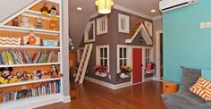 Some cool ideas for a playroom
