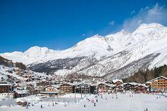 Ski the Swiss Alps Saas-Fee Switzerland
