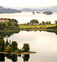 Enjoy the outdoors in Bariloche, Argentina.