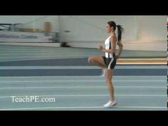 Sprint Drill - Jenny Pacey - Skip B