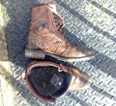 Rev'it Rodeo boots - with a bit of wear to them.