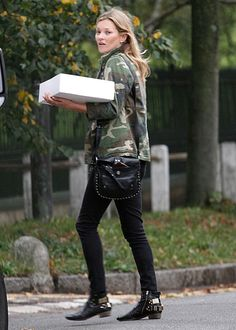 Kate Moss Camouflage Trend
