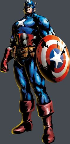 View an image titled 'Captain America Art' in our Marvel vs. Capcom 3 art gallery featuring official character designs, concept art, and promo pictures. Marvel Comics, Arte Dc Comics, Marvel Heroes, Marvel Avengers, Marvel Games, Avengers Team, Jack Kirby, Comic Book Characters, Marvel Characters