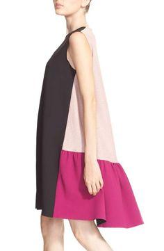 Stylish Dresses, Simple Dresses, Women's Fashion Dresses, Casual Dresses, Girl Fashion, Summer Dresses, Ankara Dress Designs, Color Blocking Outfits, Tent Dress