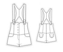 Lekala Sewing Patterns - WOMEN Jumpsuits Sewing Patterns Made to Measure and Royalty Free