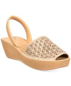 ee10201f0313 Kenneth Cole Reaction Women s Fine Glass 3 Platform Wedge Sandals   Reviews  - Sandals   Flip Flops - Shoes - Macy s
