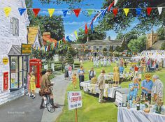 An English Village Summer Fete