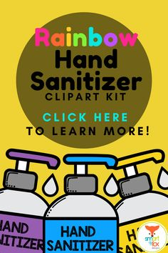 Teacher clipart black and white as well as colorful, perfect for emphasizing COVID-19 (Coronavirus) handwashing etiquette in resources. This vibrant kit includes 18 Hand Sanitizer Doodle Classroom Tools Clipart images created in Adobe Illustrator. The images are high resolution at 300 PPI, which ensures high quality. They are perfect for decorating personal or commercial worksheets, digital products, or product covers! Math Clipart, Science Clipart, Classroom Clipart, Classroom Procedures, Classroom Tools, Classroom Activities, Elementary Teacher, Teacher Pay Teachers, Back To School Clipart