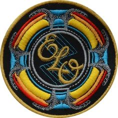 Electric Light Orchestra New World Record Logo Embroidered Patch ELO Jeff Lynne