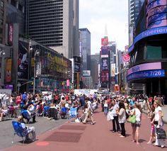 タイムズ・スクエアの歩行者天国がさらにグレードアップ! : ニューヨークの遊び方