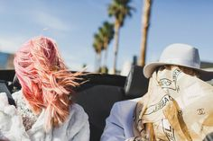 This Badass Couple's Vegas Elopement Is The Epitome Of Cool » Design You Trust. Design, Culture & Society.