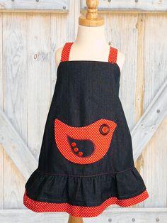 Childrens sewing pattern PDF Girls dress by MyChildhoodTreasures, $7.50