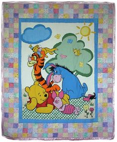 Winnie the Pooh Quilt | Enchanted Forests & More | Pinterest | Kid ... : pooh quilt - Adamdwight.com