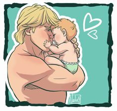 Baby Girl - Kristoff and Heidi by xxMeMoRiEzxx.deviantart.com on @deviantART