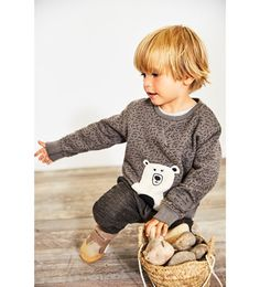 Essential clothing for baby boys aged 3 months to 5 years at ZARA online. Kids Hairstyles Boys, Toddler Boy Haircuts, Toddler Hair, Boy Hairstyles, Toddler Boys, Baby Kids, Baby Boy Long Hair, Baby Boy Fashion, Kids Fashion