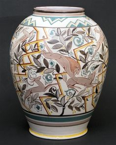 Magnificent poole vase.
