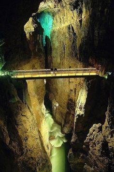 The Škocjan Caves, Slovenia