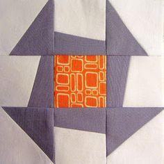 42 Quilts: Modern Monday - Block 4