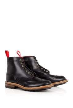 Black Commando Boots