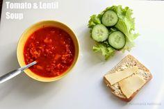 Ketunhäntä keittiössä: Weekday Cooking: Tomato and Lentil Soup