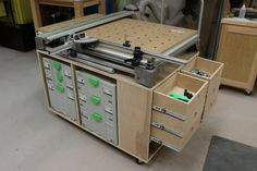Give me an excuse to come up with version 2 for this MFT sysport. sprior. Festool