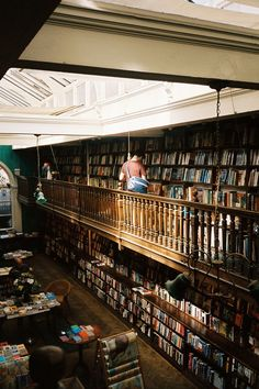 I love going to the book shop. Makes me feel so happy. Photo: The book Shop by (Bazzerio) I Love Books, Great Books, My Books, Cool Bookshelves, Bookcases, Bohemian House, Tumblr, Thats The Way, Book Nooks