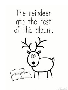 Just in case.... Finish Your December Daily Album in 10 Seconds (comic) - Lisa Moorefield