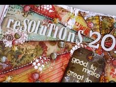 Art Journal Page: Resolutions
