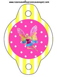 Imprimibles Barbie Fairytopia 3. | Ideas y material gratis para fiestas y celebraciones Oh My Fiesta!