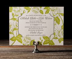 Classy Timeless Wedding Invitation Designs - MODwedding