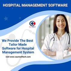 Hospital Management software helps in digitalizing the operations such as online appointments, billing, scheduling, regulatory compliance, online payment, and financial auditing within the hospitals 🧑‍ For More Information About Hospital Management Software Just Visit Our Website www.caurisoftech.com 🌐 Contact Us On This Number If You Have Any Query +91 9828010117 📲 #CauriSoftech #CauriHealth #CauriDigital #HospitalManagementSoftware #SoftwareDevelopment #HospitalManagementSoftwareCompany Regulatory Compliance, It Service Provider, Hospitals, Software Development, Appointments, Management, Good Things, Number, Website