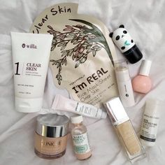 face masks, skin care, tony moly, clinique, glossier