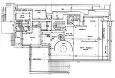 Modern Floor Plan Villa Tugendhat