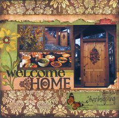 Welcome Home - Scrapbook.com