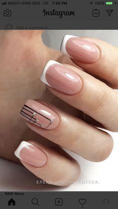 French Nail Designs, Nail Art Designs, Toe Designs, Nails Design, Toe Nail Art, Toe Nails, Acrylic Nails, Chic Nails, Heart Nails