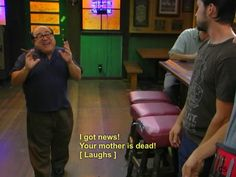 Tv Quotes, Movie Quotes, Dennis Reynolds, Charlie Kelly, Stupid Pictures, Danny Devito, Sunny In Philadelphia, It's Always Sunny, I Hate My Life