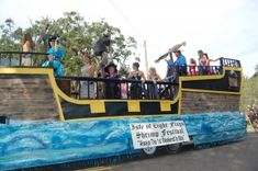 pirate homecoming float - Google Search