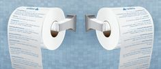 Shi**er Toilet Paper - turn your favorite Twitter feed into your favorite TP.