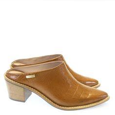 Babuche Castanho 3128 Dumond by Moselle | Moselle calçados finos femininos! Moselle sua boutique de calçados online.