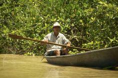 Fotografía: Destinos Reps - Canales Moín - Pescador (Costa Rica) Rafting, Outdoor Furniture, Outdoor Decor, Costa Rica, Hammock, Whales, Angler Fish, Destinations, Woods