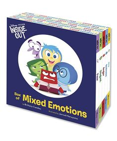 Take a look at this Inside Out Box of Mixed Emotions Hardcover Set today!